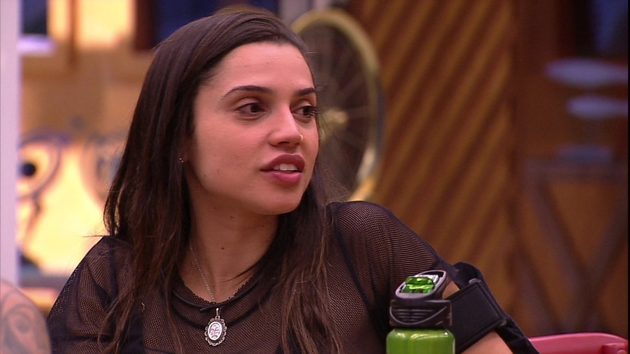Paula elogia Kaysar: 'Ele tem uma energia leve'
