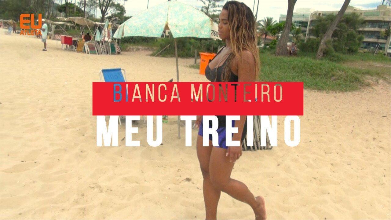 Rainha de bateria, Bianca Monteiro mostra preparação para o carnaval