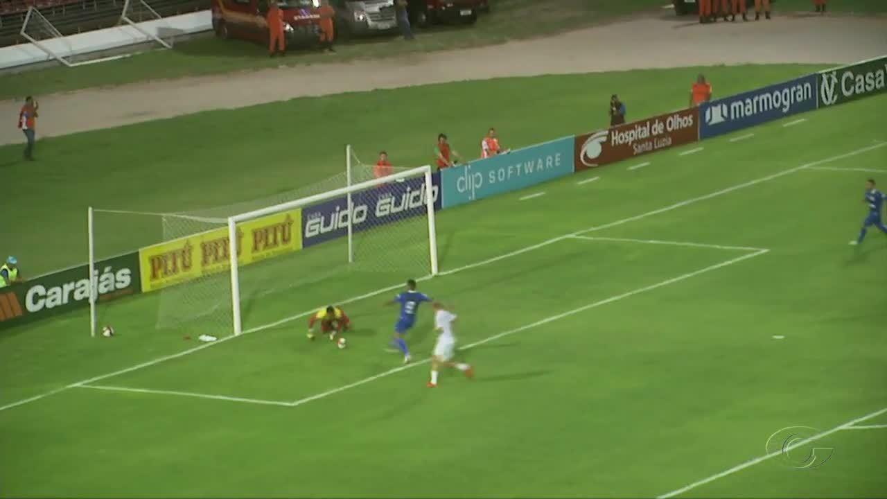 Confira os gols da vitória do CSA sobre o Murici no Rei Pelé