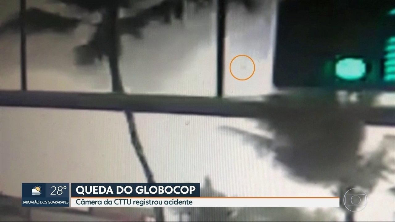 Imagens mostram que peça do Globocop pode ter se soltado da aeronave antes da queda