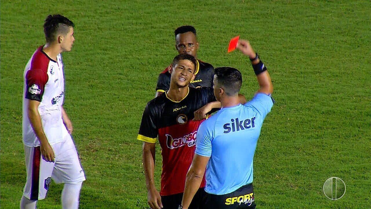Santa Cruz de Natal vence Globo FC por 2 a 1 no Barretão