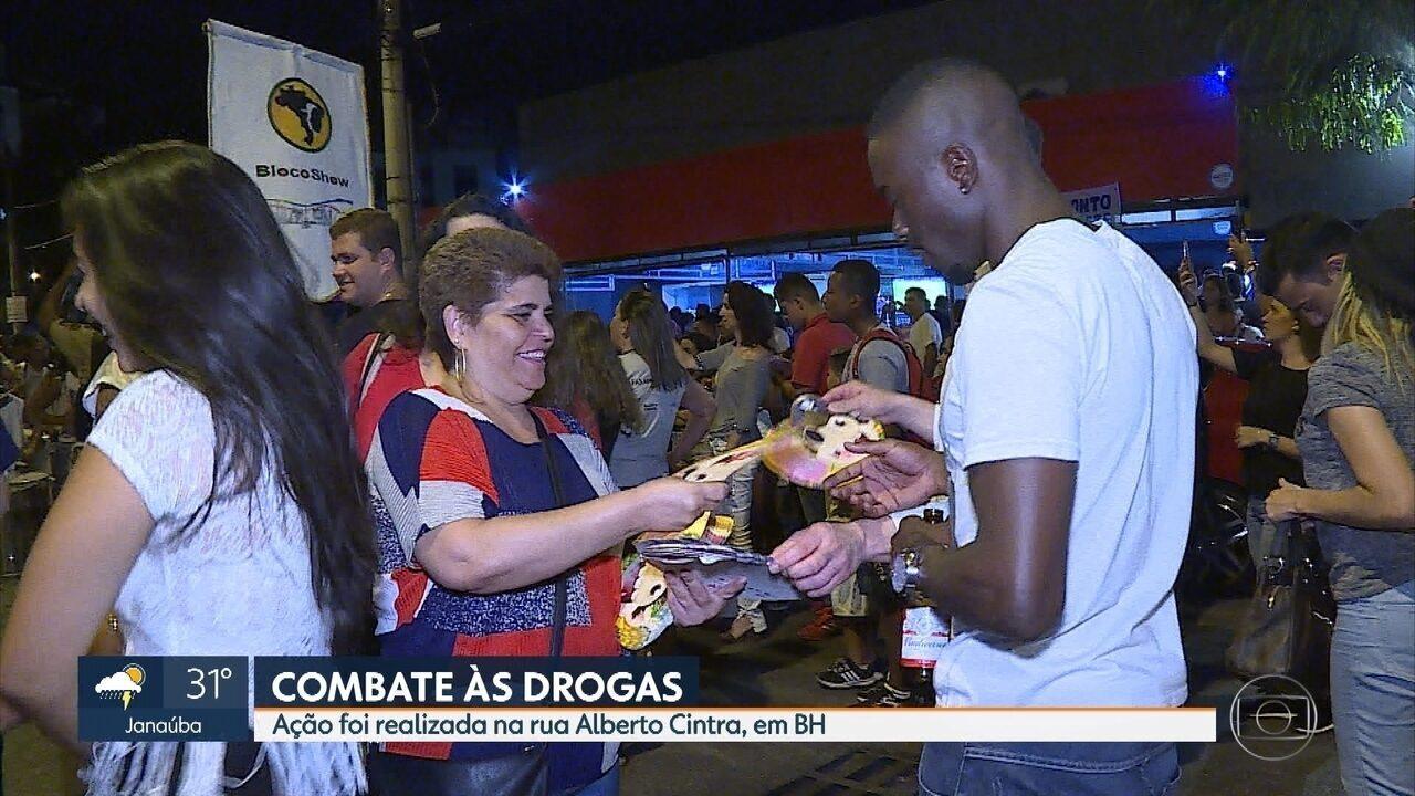 Governo de Minas lança campanha contra uso de drogas durante o carnaval