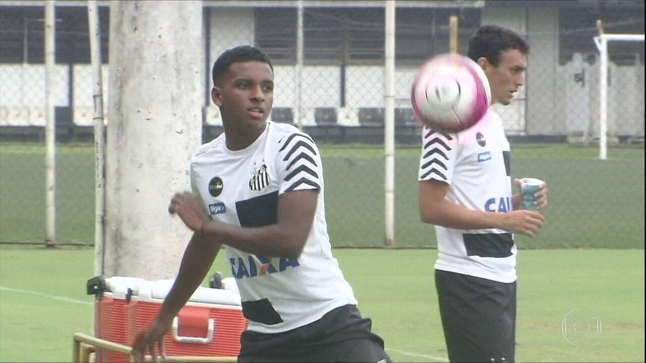 Novo raio? Rodrygo encanta torcida do Santos ao marcar primeiro gol mais jovem que Neymar