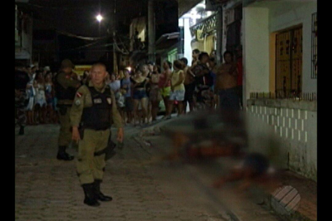 Equipe da TV Liberal registra tiroteio no bairro da Pedreira, em Belém