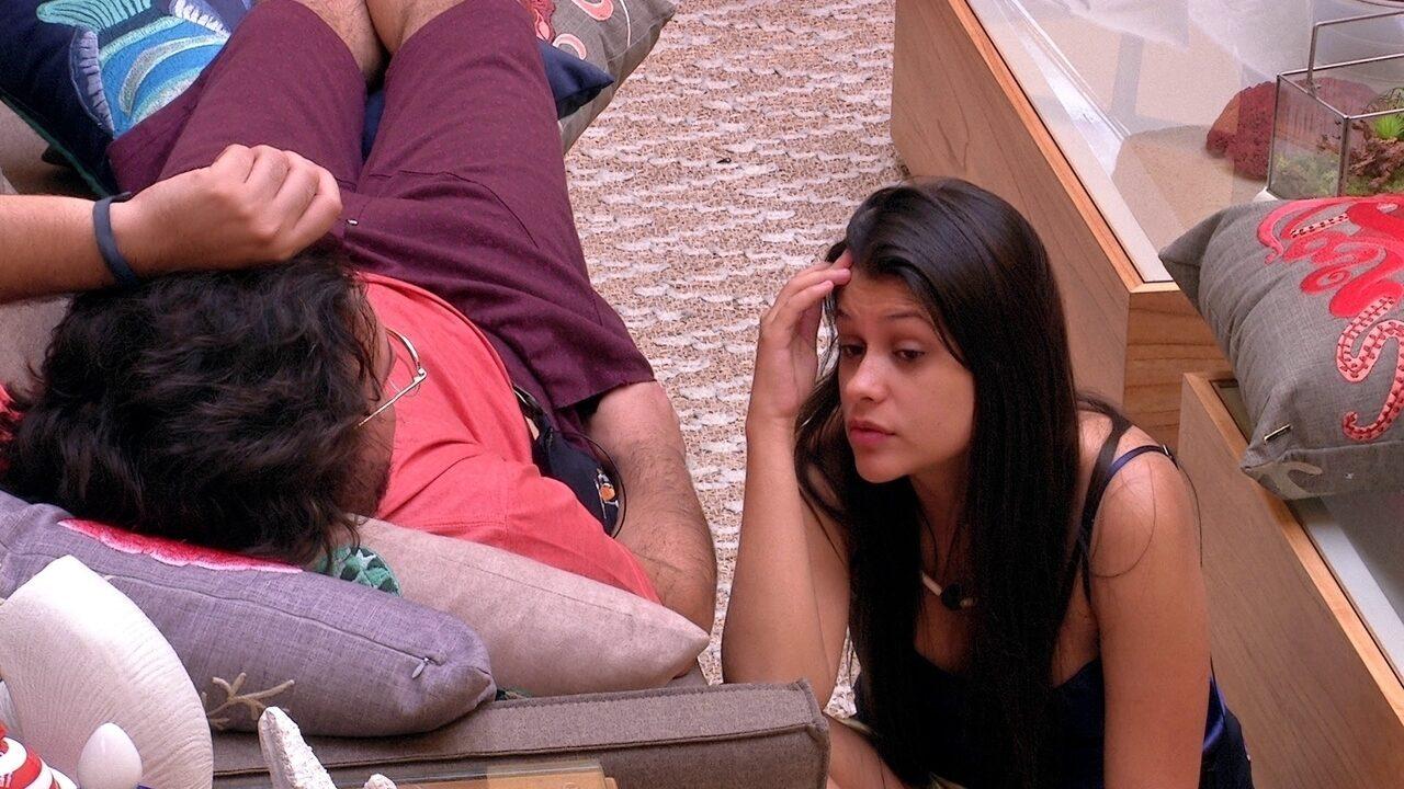 Ana Paula conta que Mahmoud a chamou para conversar: 'Não sei o que vou falar'