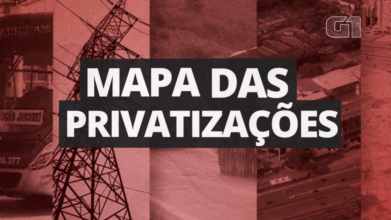 Privatizações: União, estados e municípios colocam à venda mais de 230 projetos