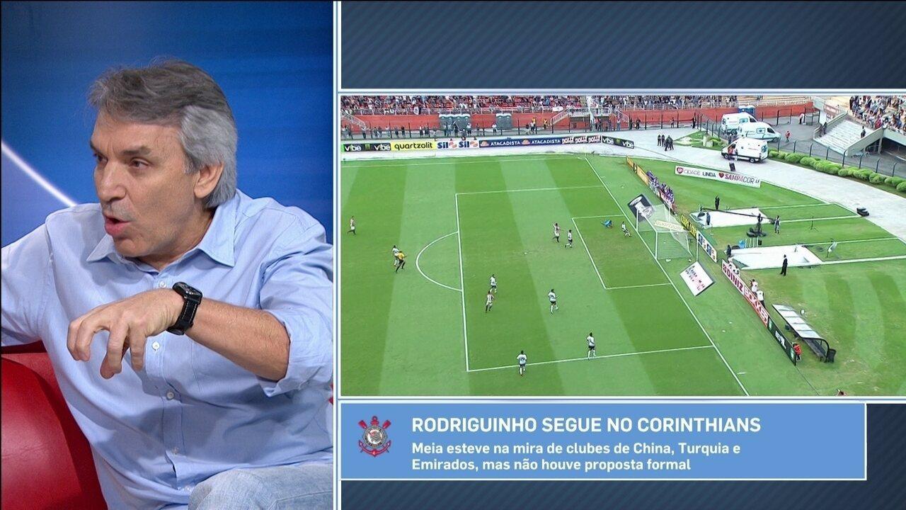 Carille pede para torcida do Corinthians ter paciência com Kazim