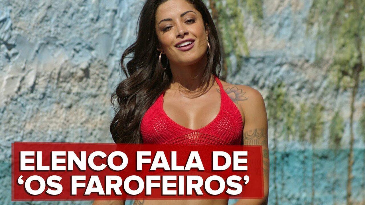 Aline Riscado fala do filme 'Os Farofeiros'