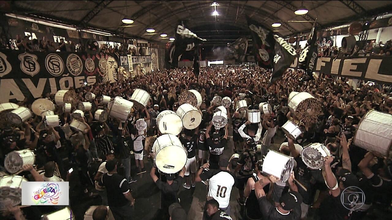 Gaviões da Fiel é destaque no carnaval de São Paulo