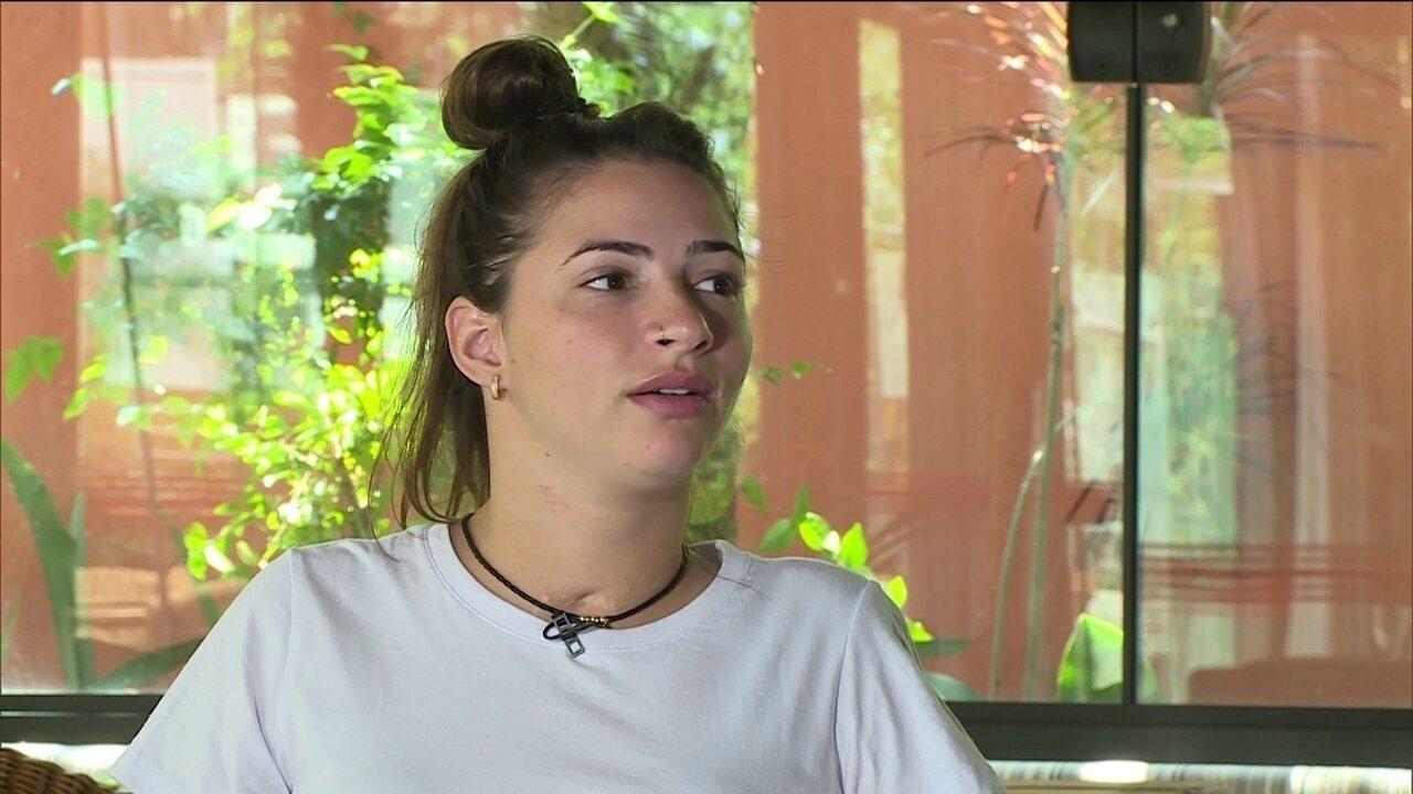 Lais Souza nega trauma após acidente e diz que percebe recuperação em vídeos que posta