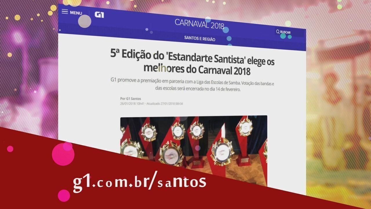Prêmio Estandarte Santista 2018 - Bandas e Escolas