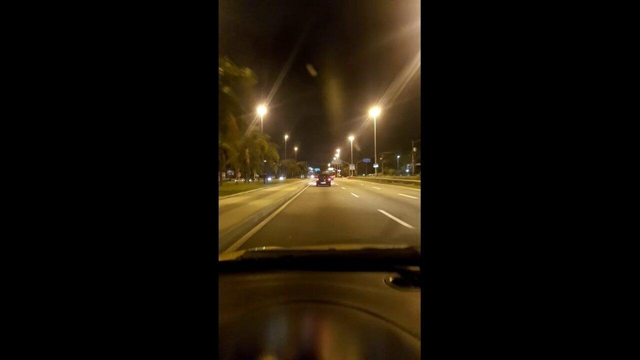 Tiroteio na Barra assusta motoristas na Avenida Ayrton Senna