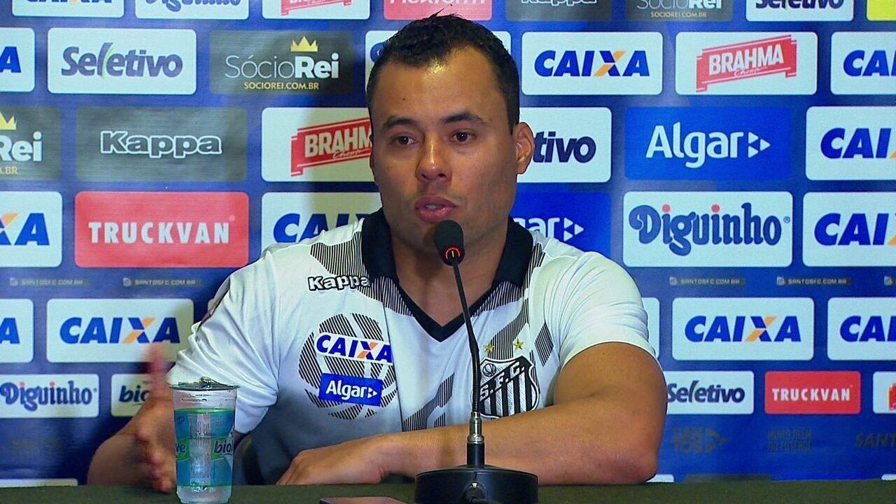 Veja o que o técnico Jair Ventura, do Santos, falou após a derrota no clássico