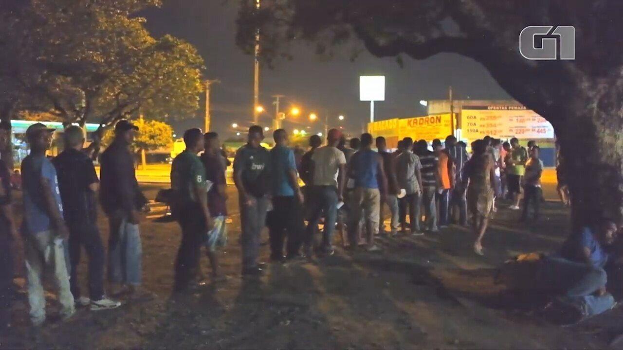 Venezuelanos fogem da fome e buscam oportunidades de trabalho em Roraima