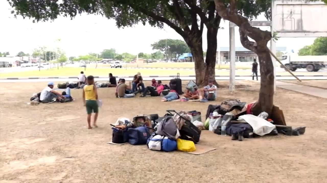 Crise migratória: como vivem os venezuelanos em Boa Vista