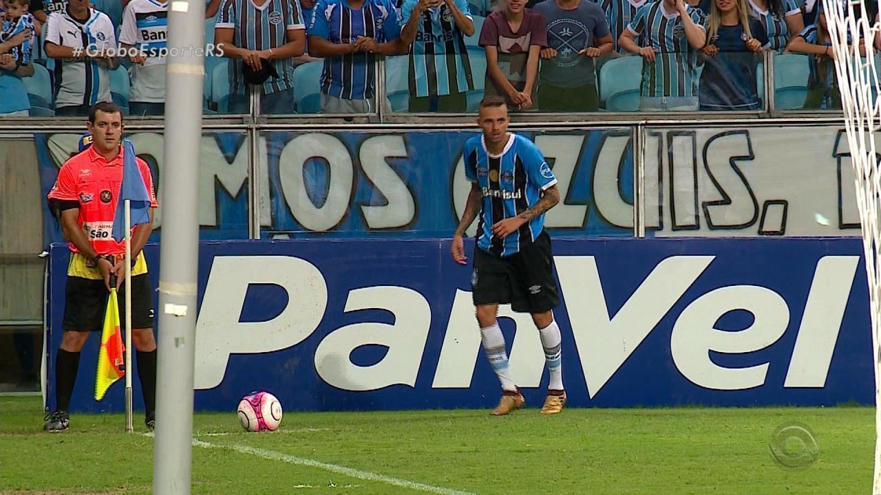 Grêmio perde com time titular em jogo contra o Cruzeiro