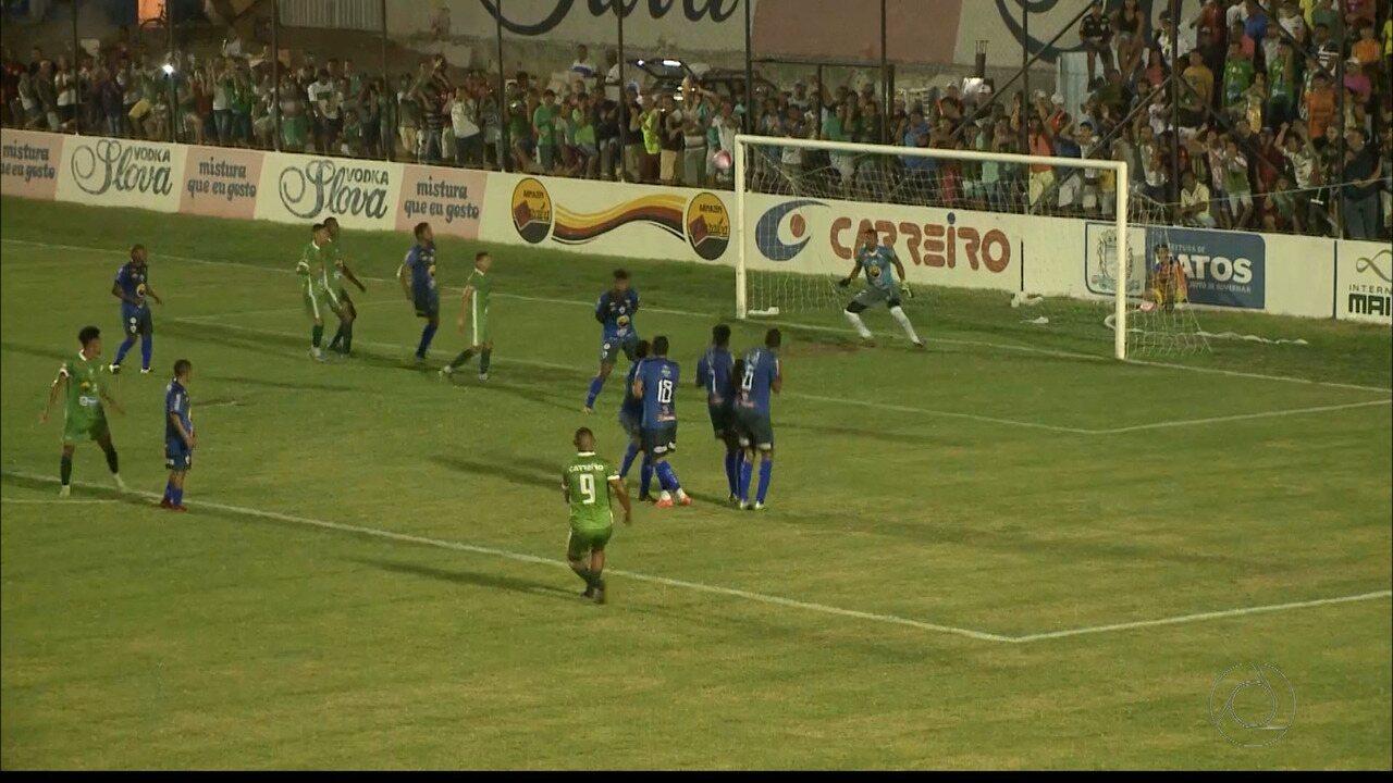 Confira o gol de Lúcio Curió, que deu a vitória ao Nacional de Patos sobre o Atlético-PB
