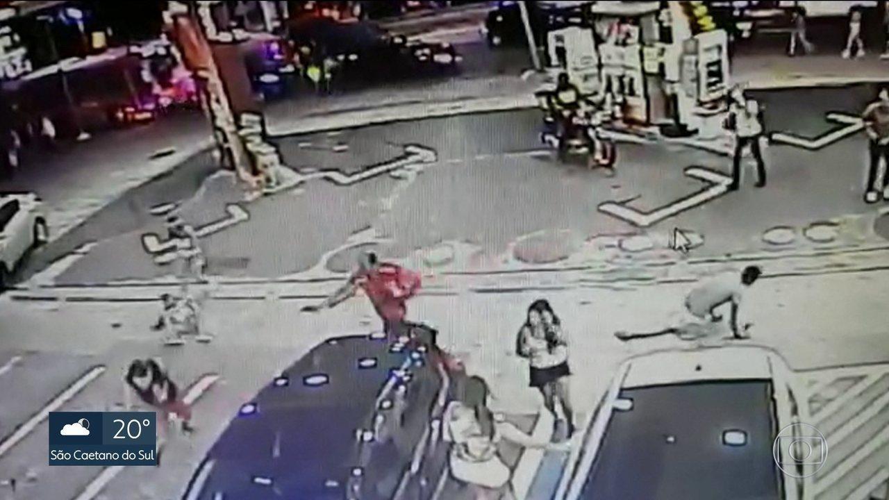 Polícia pede prisão de frentista que matou duas pessoas