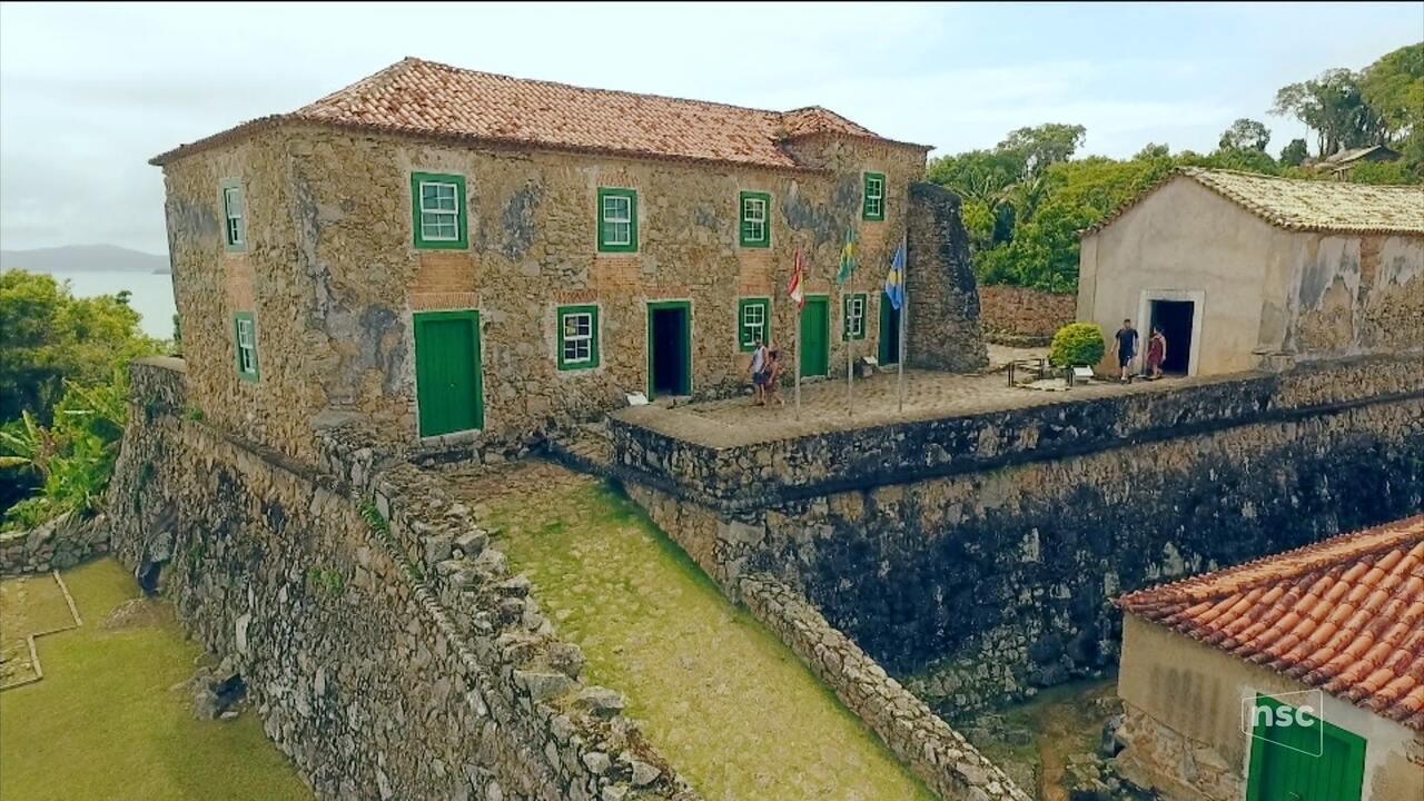 Confira o primeiro episódio da série especial sobre a história das fortalezas da Ilha