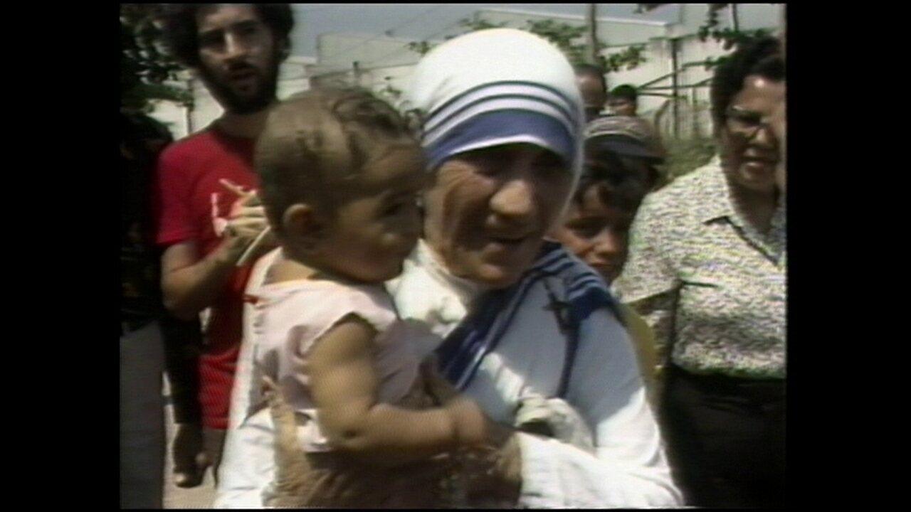 Madre Teresa de Calcutá já visitou comunidade no Rio de Janeiro