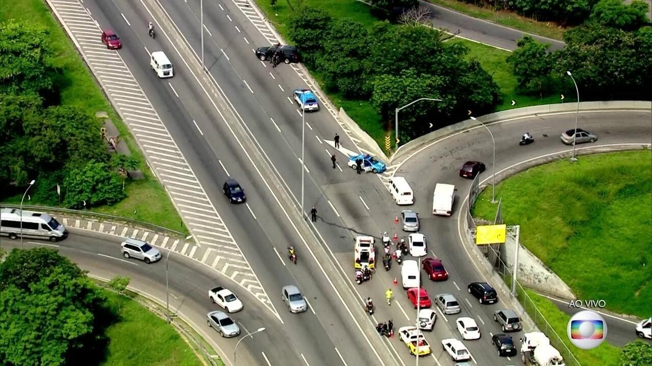 Três principais vias do Rio são interditadas por medida de segurança nesta terça (6)