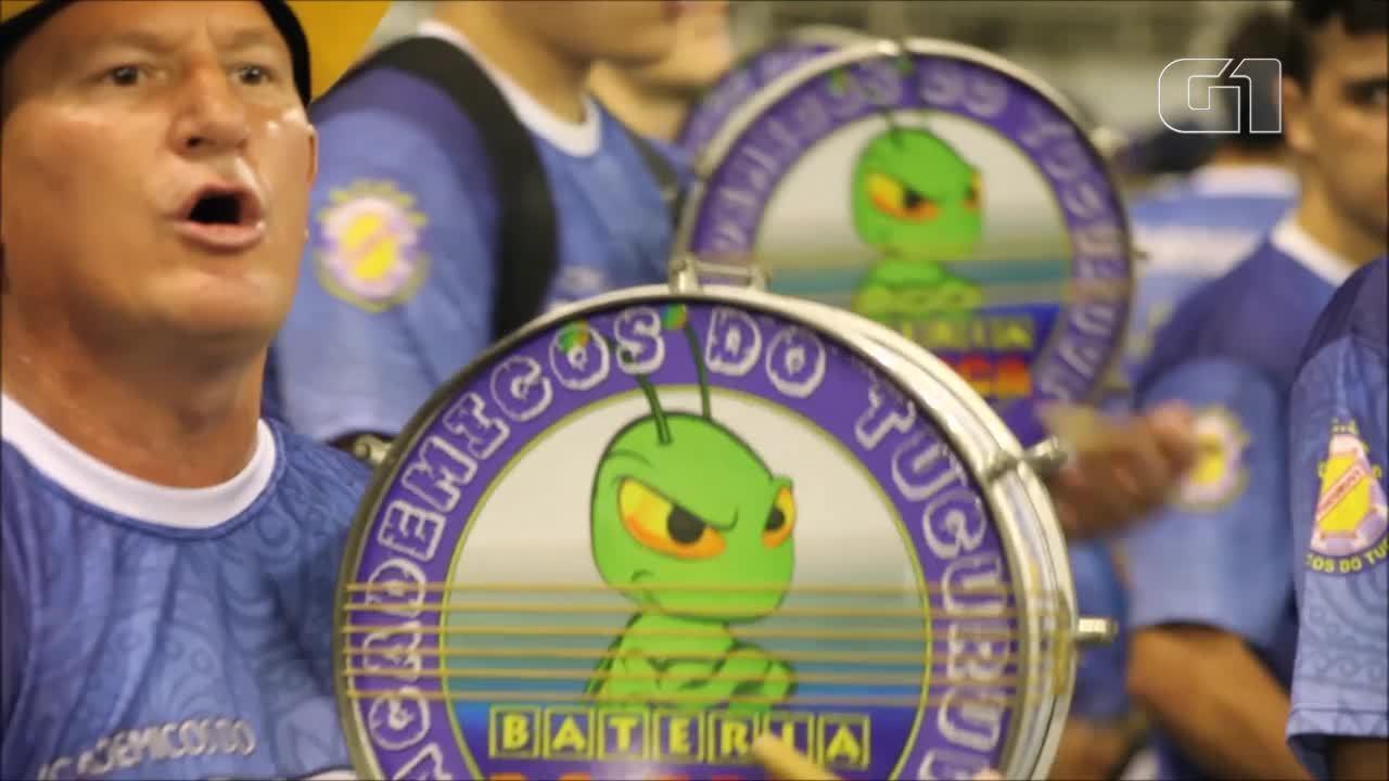 VEJA VÍDEO: Conheça os segredos da bateria da Acadêmicos do Tucuruvi
