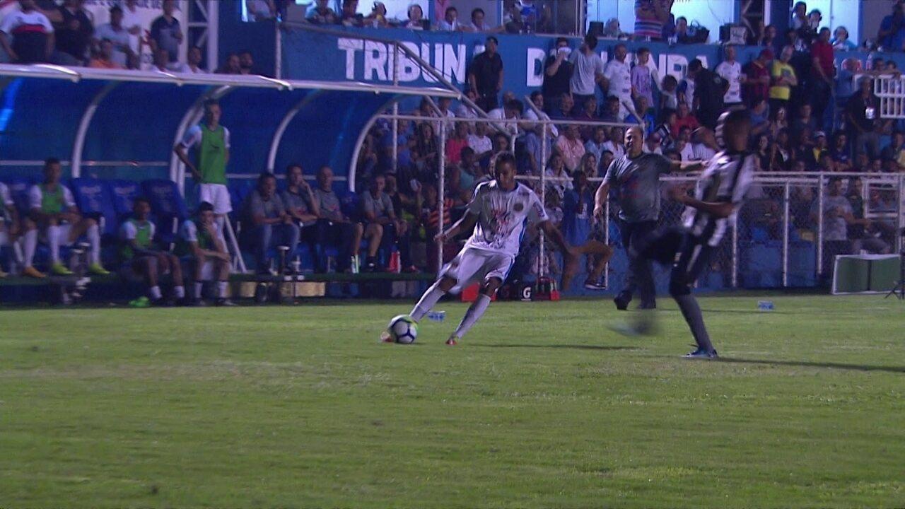 Melhores momentos  Aparecidense 2 x 1 Botafogo pela primeira fase da Copa  do Brasil ec7bf69e26680