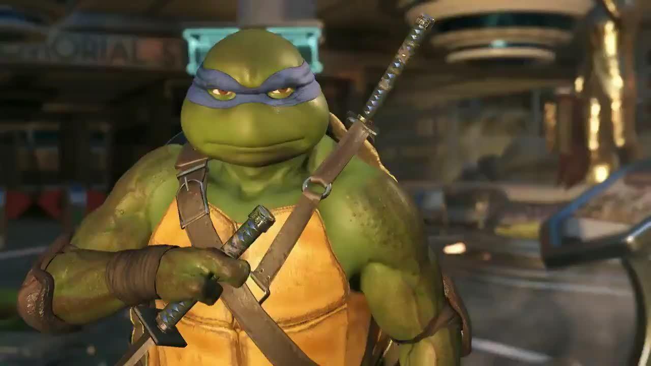Veja as Tartarugas Ninja em ação em Injustice 2