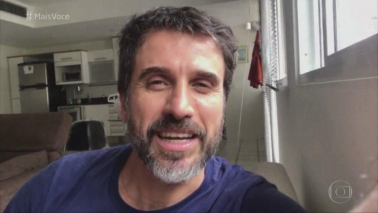 Eriberto Leão se declara fã de Ellen Rocche