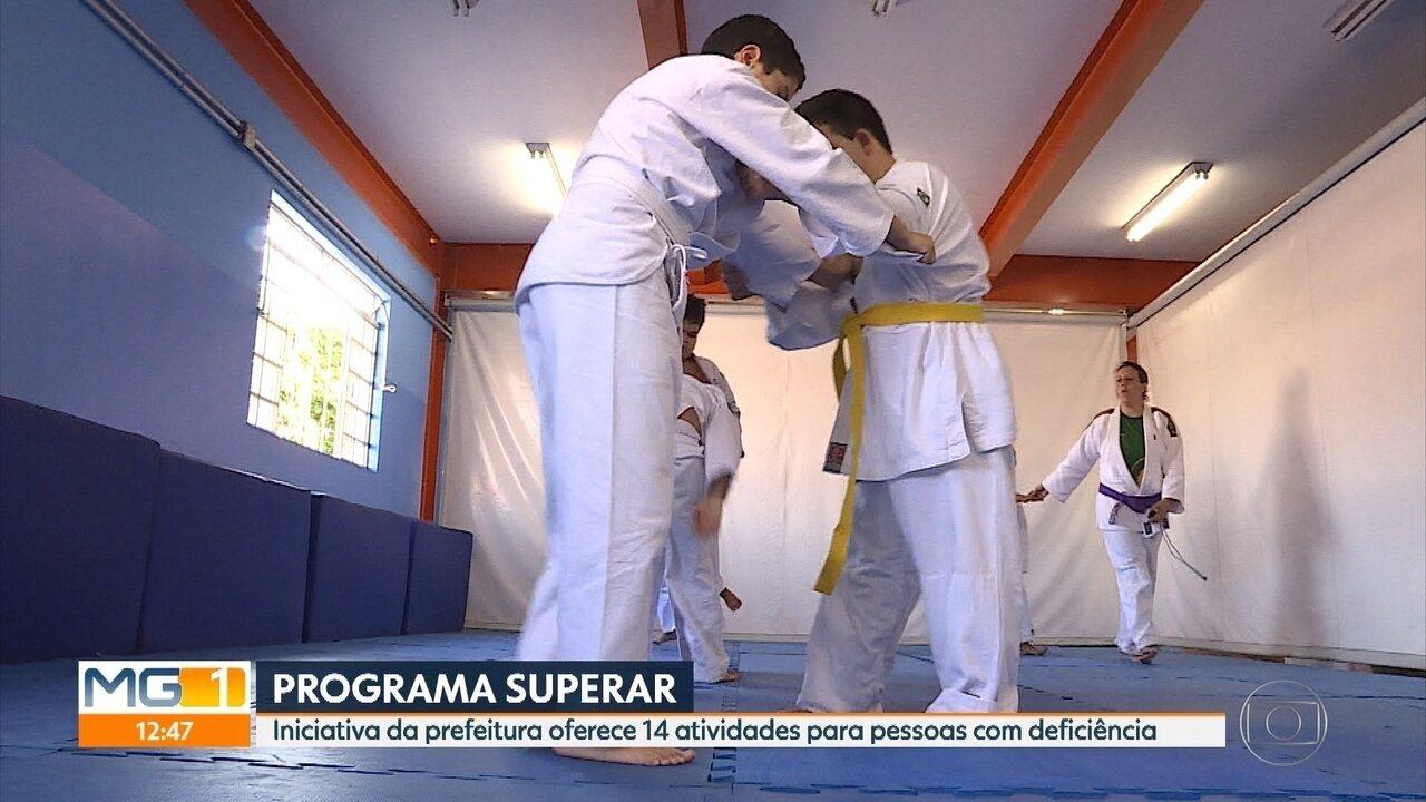 Resultado de imagem para 'Projeto Superar' resgata autoestima de pessoas com deficiência em Belo Horizonte