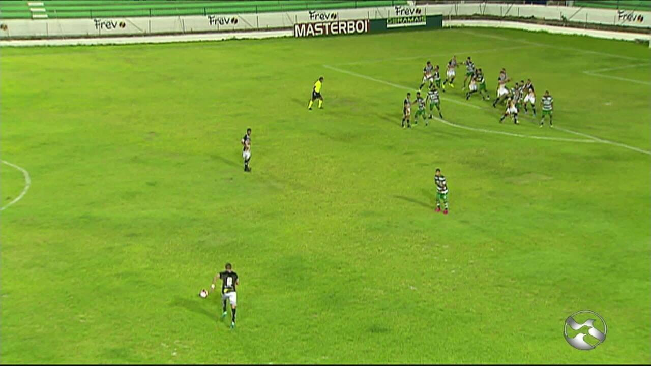 Gol de Danilo Quipapá contra o América-PE