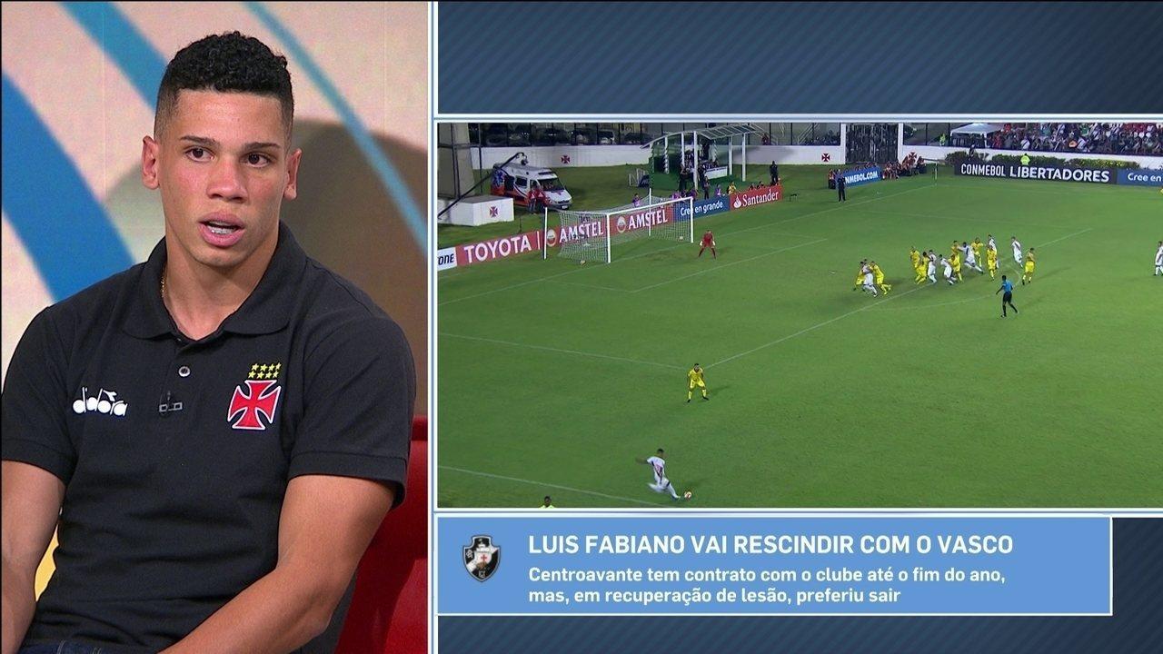 04b70934bd Paulinho celebra recorde quebrado de jogador mais jovem do Vasco a marcar  na Libertadores