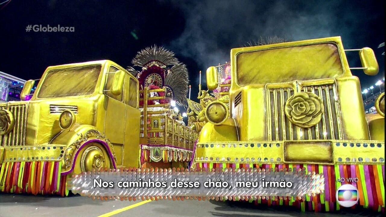 Vida do caminhoneiro é enredo do samba da Rosas de Ouro
