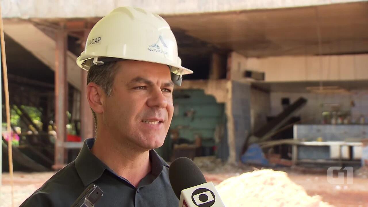 Presidente da Novacap explica sensores na estrutura do viaduto que tombou