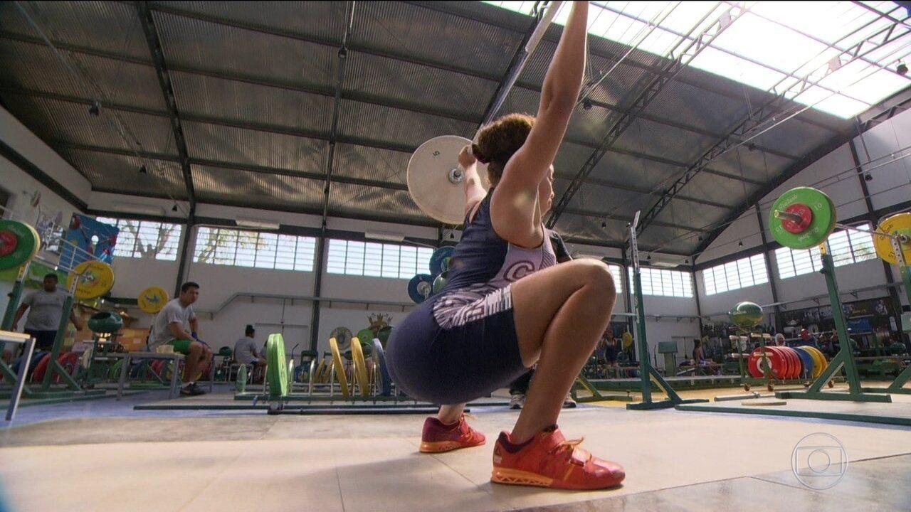 Filha de Dudu Nobre se destaca no levantamento de peso e já mira Jogos Olímpicos