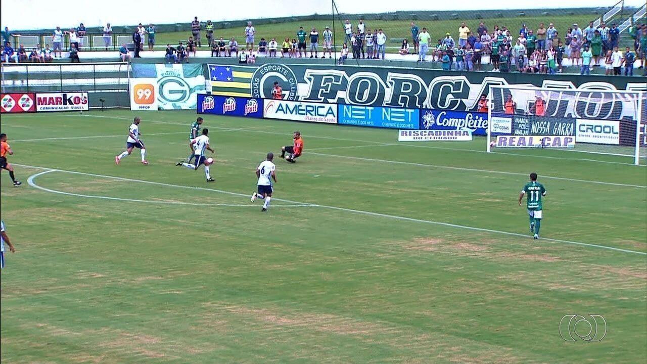 Com gol de Lucão, Goiás bate a Aparecidense na Serrinha