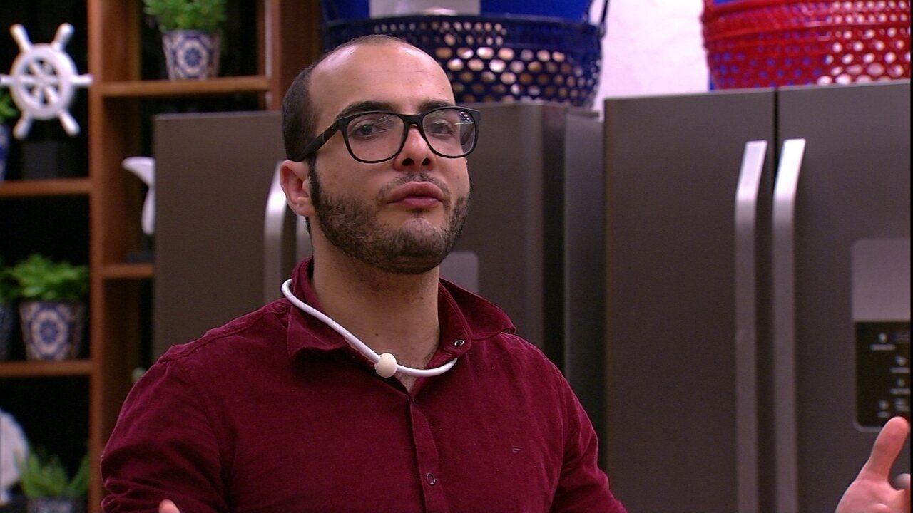 Paula afirma sobre Diego: 'Ficou estressado porque o plano deu errado'