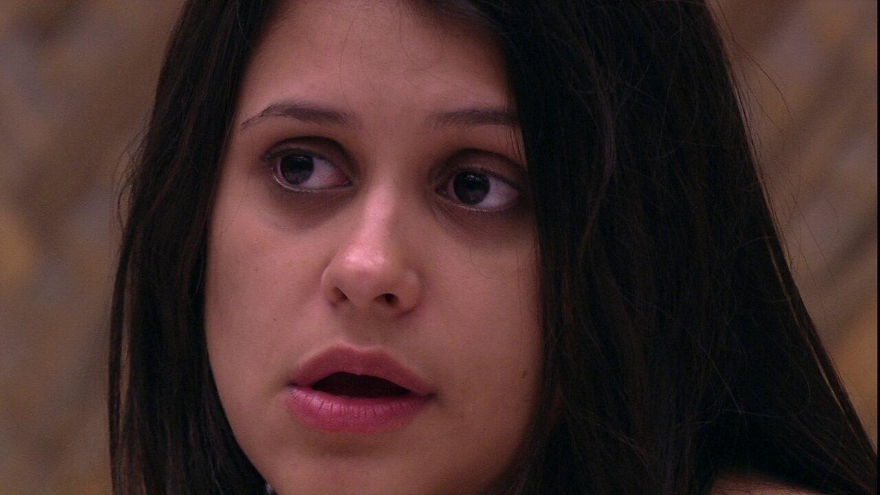Ana Paula reclama e Kaysar diz: 'Queria ser uma planta'
