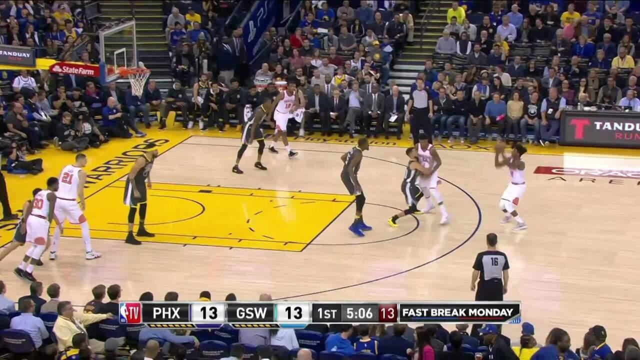 Melhores momentos: Warriors 129 x 83 Suns pela NBA