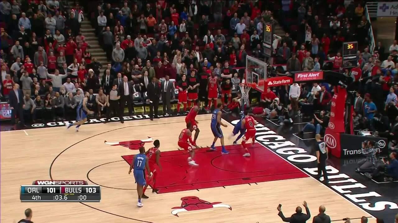 Melhores momentos: Bulls 105 x 101 Magic pela NBA
