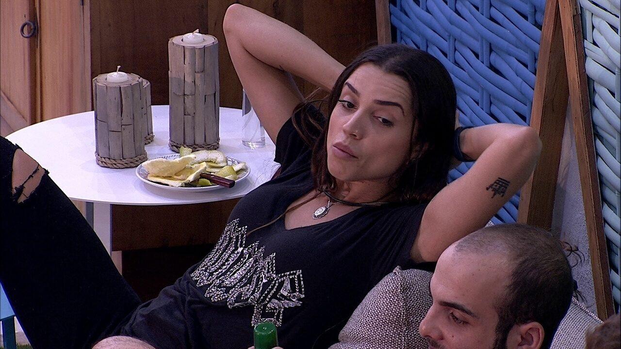 Paula sobre Ana Paula no Jogo da Discórdia: 'Era pra ter tomado mais'