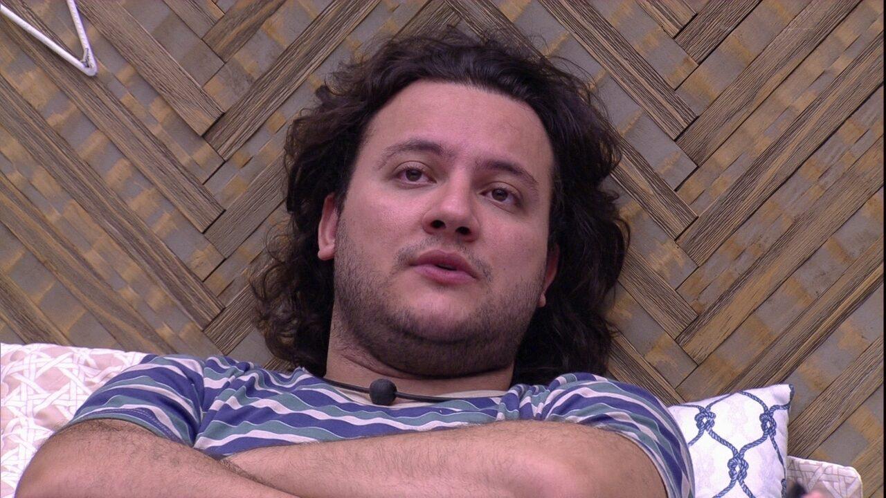Diego explica para Ana Paula: 'Você tem que medir as palavras'