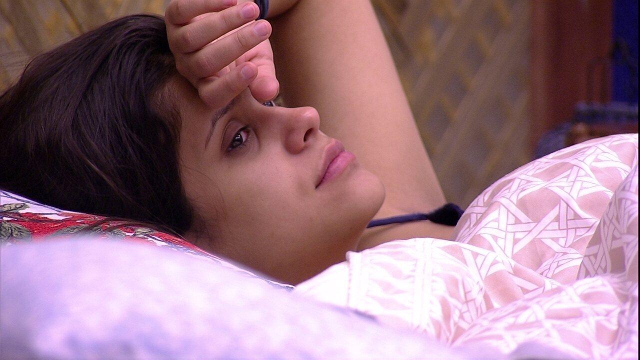 Ana Paula confessa para Diego: 'Tenho medo de sair com 80% de rejeição'