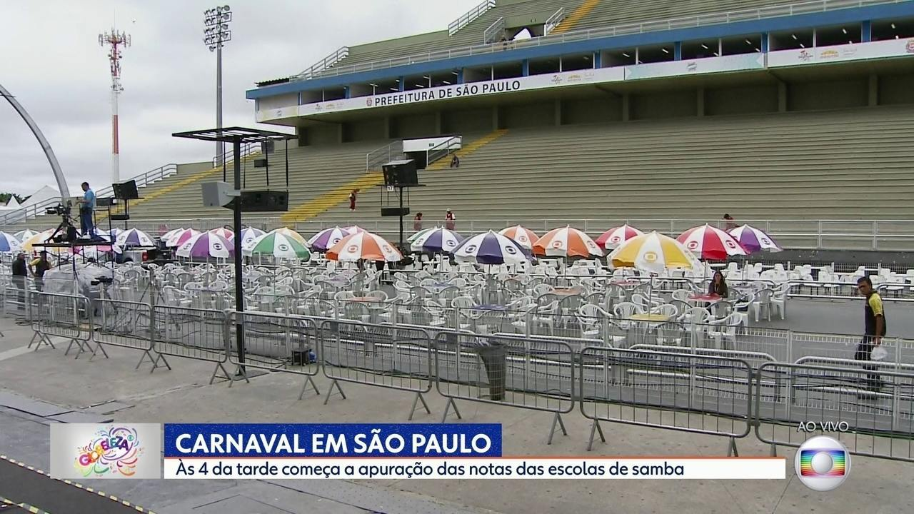 SP conhece nesta terça a campeã do carnaval 2018