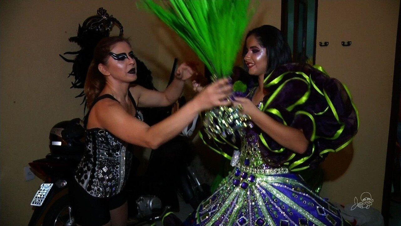 Mocidade Independente do Sanharol homenageia a cultura do Nordeste em desfile