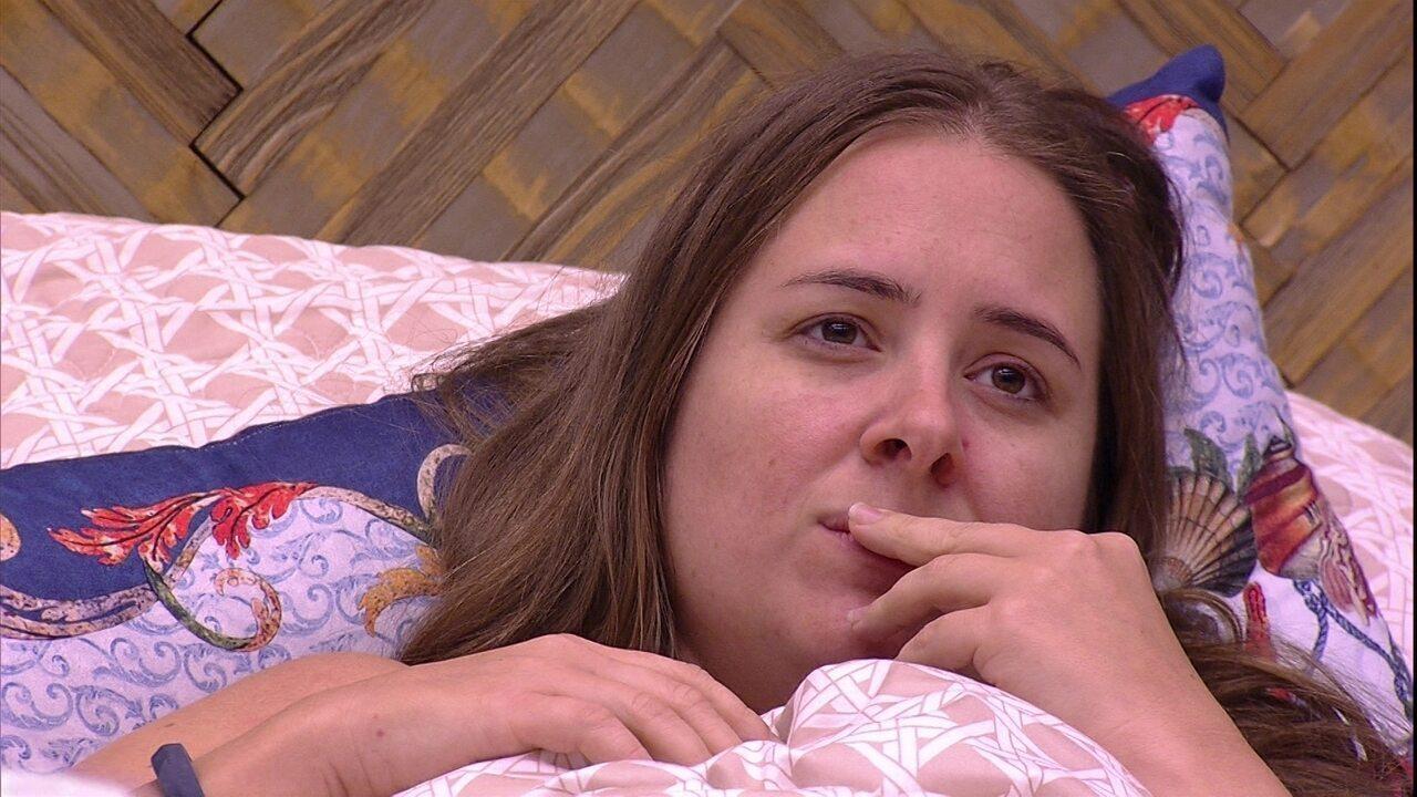 Diego e Ana Paula tentam advinhar significado do sonho de Patrícia