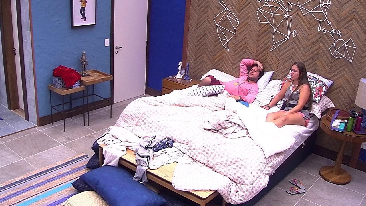 Diego afirma sobre eliminação de Ana Paula: 'Fiquei muito desanimado'