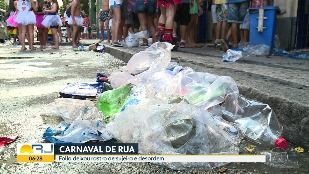 Falta de fiscalização deixa carnaval do Rio sem ordem