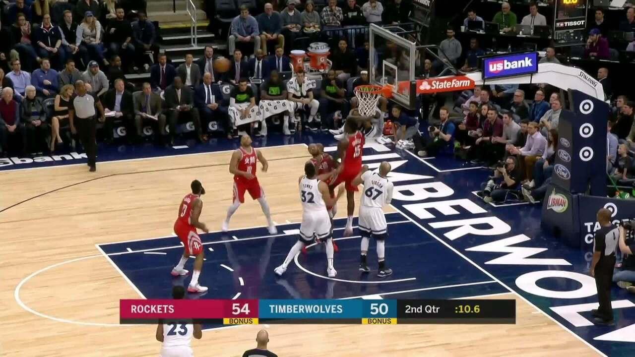 Melhores momentos: Houston Rockets 126 x 108 Minnesota Timberwolves pela NBA