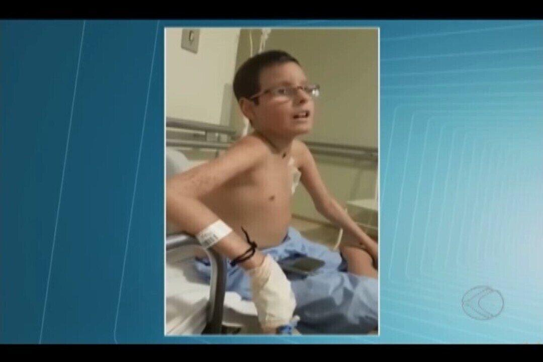 Família recorre à Justiça para ajudar criança com leucemia em Uberlândia